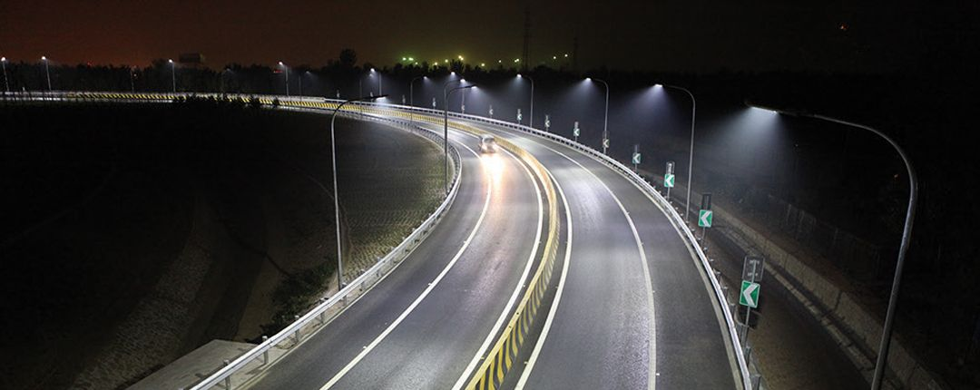 LED Street Light UL cover
