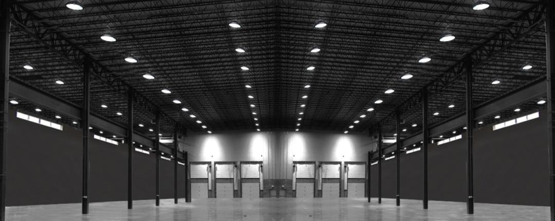 luces para grandes almacenes bodegas