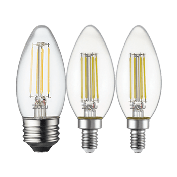 led classic filament lamps zl 2c