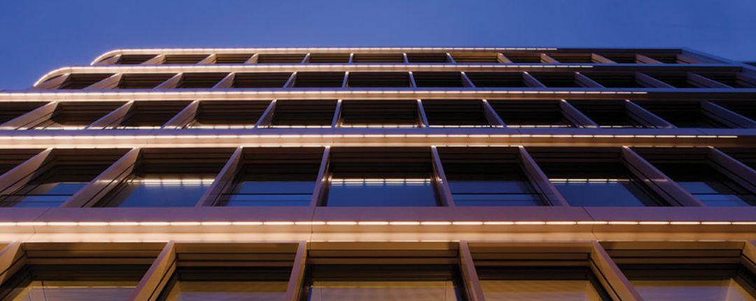 luces tiras edificios costa rica